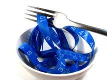 Refeição da dieta da perda de peso Imagens de Stock Royalty Free