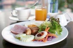 Refeição do café da manhã fotografia de stock