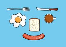 Refeição do café da manhã Imagem de Stock