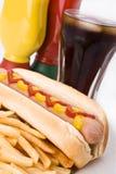 Refeição do fast food fotos de stock
