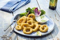 Refeição do fritti de Calamaretti Imagem de Stock Royalty Free