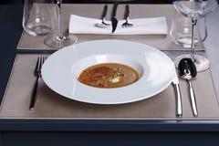 Refeição do gourmet Foto de Stock
