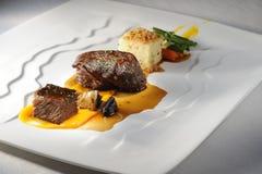 Refeição do jantar da carne Imagens de Stock Royalty Free