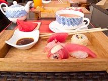 Refeição do sushi foto de stock