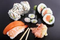 Refeição do sushi Imagens de Stock