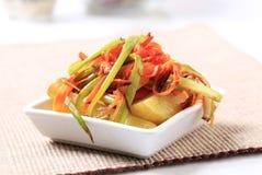 Refeição do vegetariano Foto de Stock
