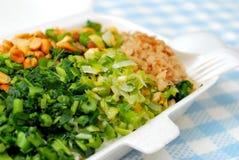 Refeição embalada com variedade de vegetais Fotografia de Stock Royalty Free