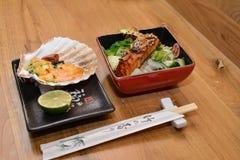 Refeição japonesa Fotografia de Stock