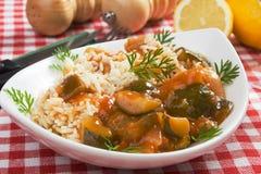 Refeição saudável do vegetariano Imagens de Stock Royalty Free