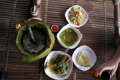 Refeições do jantar/almoço Fotografia de Stock Royalty Free