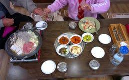 Refeições do jantar/almoço Fotos de Stock