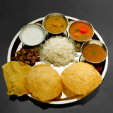 Refeições indianas sul fotos de stock