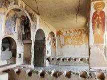 Refeitório do monastério de Udabno Imagens de Stock