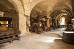 Refektorium des Klosters Eberbach Deutschland Stockfotografie