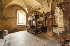 Refektorium des Klosters Eberbach Deutschland Lizenzfreie Stockbilder