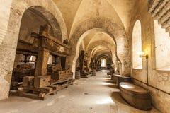 Refektorium des Klosters Eberbach Deutschland Lizenzfreies Stockfoto