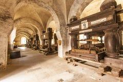 Refektorium des Klosters Eberbach Deutschland Stockfoto