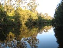 Refelction sur un lac Photographie stock libre de droits