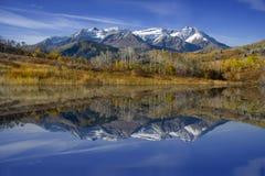 refelctions d'automne Image libre de droits