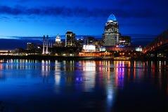 Refelctions van Cincinnati royalty-vrije stock foto