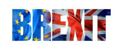 Referéndum Brexit de la UE ilustración del vector