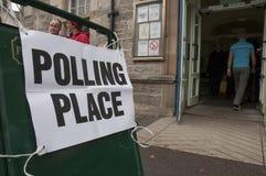 Referéndum escocés 2014 de la independencia foto de archivo