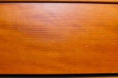 Referência da madeira do Bleacher do ginásio Foto de Stock