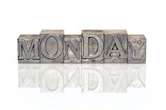 Referência de segunda-feira fotos de stock