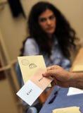 Referandum en Turquie Photographie stock