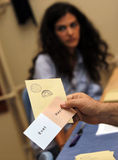 Referandum in Turkey. Turks voted in a national referandum on a package of constitutional amendments on September 12,2010 in Istanbul,Turkey Stock Photography