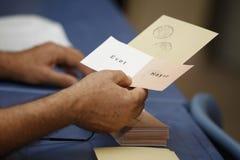 Referandum in Turkije Royalty-vrije Stock Afbeeldingen
