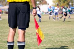 Referee Stock Image