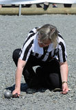 Referee alley Royalty Free Stock Photos