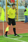 Referee assistant 2 Royalty Free Stock Image
