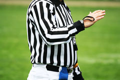 Referee decision Royalty Free Stock Photo