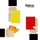 Referee desing  illustration. Stock Image