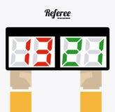 Referee desing  illustration. Stock Photos