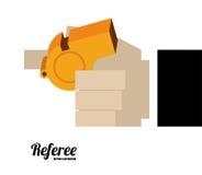 Referee desing vector illustration. Royalty Free Stock Photo