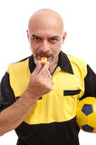 Referee face Royalty Free Stock Photos