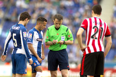 Referee Fernandez Borbalan Stock Photos