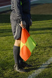 Referee in football Stock Photography