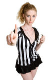 Referee Girl Stock Images