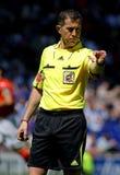 Referee Iglesias Villanueva Royalty Free Stock Photos