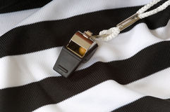 Referee Items Stock Photo
