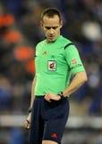 Referee Mario Melero Lopez Royalty Free Stock Photography