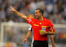 Referee Muñiz Fernnadez Stock Images
