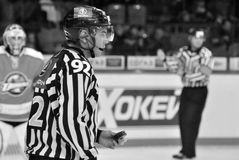 Referee portrait Stock Photos