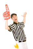 Referee: Ref Excited for Game Stock Images
