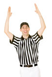 Referee: Referee Signals a Touchdown Stock Images