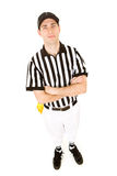 Referee: Serious Ref Ready for Game Stock Photography